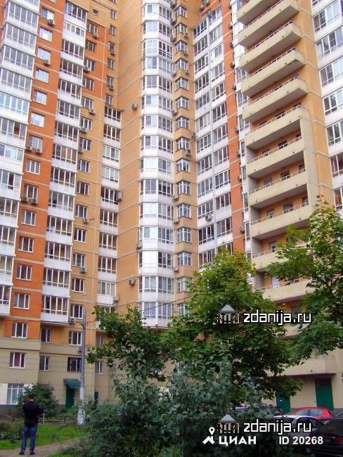 Москва, улица Полины Осипенко, дом 10, корпус 1 (САО, район Хорошевский)