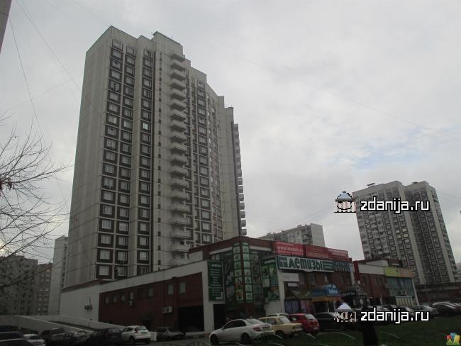 Москва, Братиславская улица, дом 22, Серия КТЖС (ЮВАО, район Марьино)