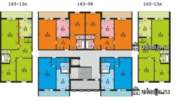 Серия 163, (развитие II-49) [отр.адм.]  Помогите определить серию дома, Харьков 9-ти этажный, панельный