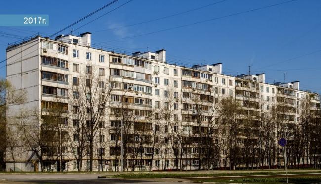 Москва, Чертановская улица, дом 18, Серия II-57 (ЮАО, район Чертаново Северное)