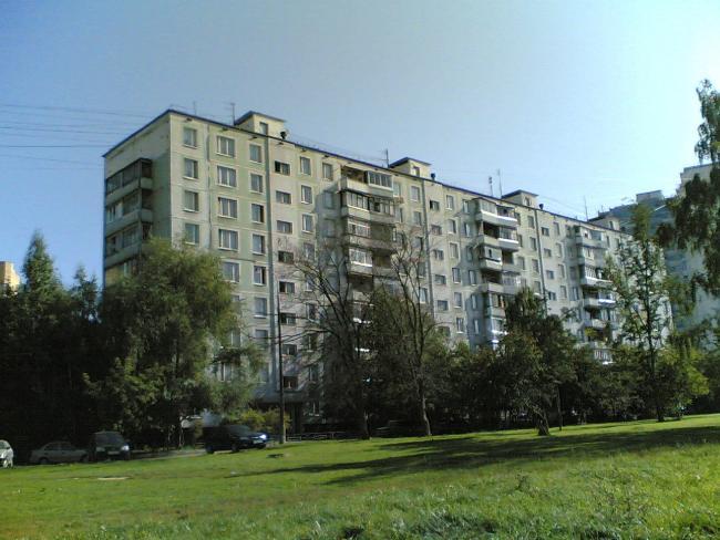 Москва, Производственная улица, дом 1, корпус 1 (ЗАО, район Солнцево)