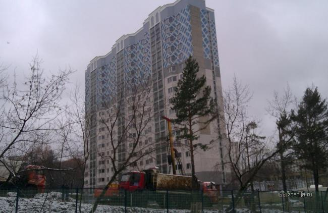 Москва, улица Бутлерова, дом 14, корпус 1, Серия И-155 (ЮЗАО, район Коньково)