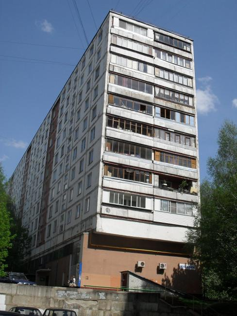 Москва, улица Академика Волгина, дом 31, корпус 3. Серия II-57 (ЮЗАО, район Коньково)