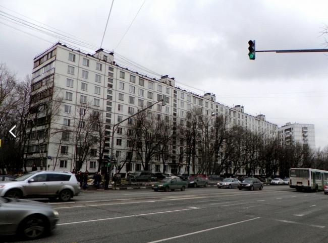 Москва, улица Паперника, дом 4, Серия II-57 (ЮВАО, район Рязанский)