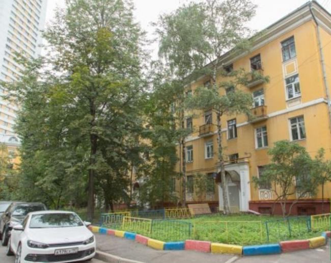 Москва, 1-й Хорошевский проезд, дом 12, корпус 1 (САО, район Хорошевский)