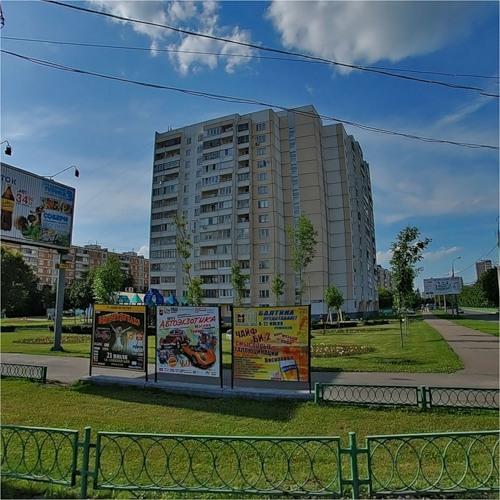 Москва, Щелковское шоссе, дом 93, Серия П-46м (ВАО, район Гольяново)