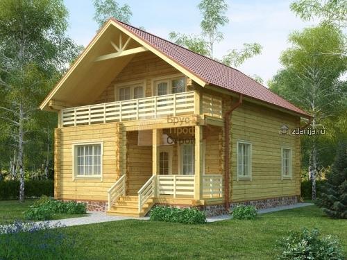 Компания «БрусПрофСтрой» - строительство домов из бруса