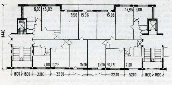 Непонятная серия панельных домов!