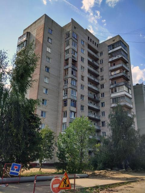 Серия дома 124-87-107 - Тверь, Туполева 116, к3, двенадцатиэтажка