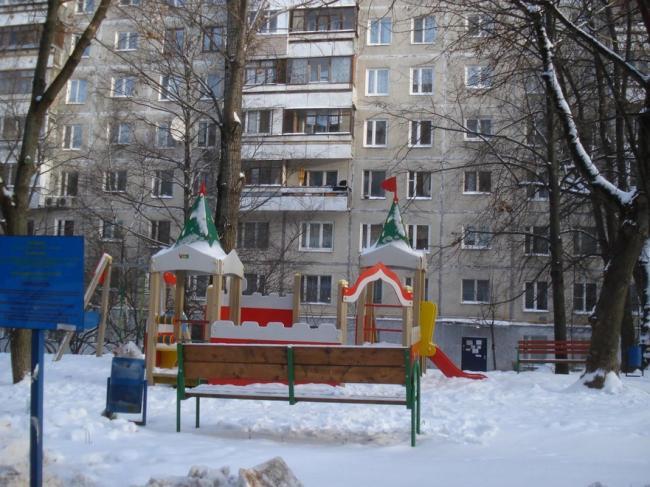 Москва, 1-й Тушинский проезд, дом 7 (СЗАО, район Покровское-Стрешнево)