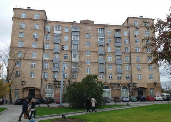 Москва, улица Лобанова, дом 2/21 (ЮАО, район Даниловский)