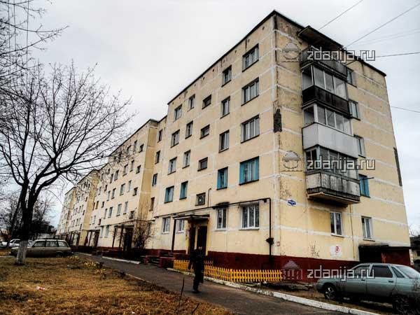 Типовые серии Брянска - серия 1-467А (отр.адм.), серия 125 (типовые проекты 125-010, 125-011 и 125-012)  (отр.адм.) Панельные пятиэтажки, необычная серия.