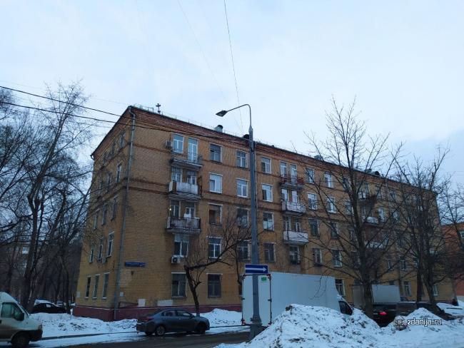 Серия домов II-01, планировки квартир (3-5 этажные кирпичные), адреса в Москве