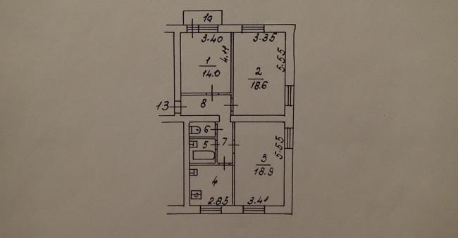Серия II-14 (пятиэтажки кирпичные)