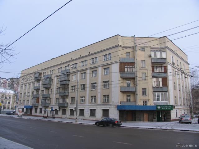 Улица Мельникова - Конструктивистские дома, Москва