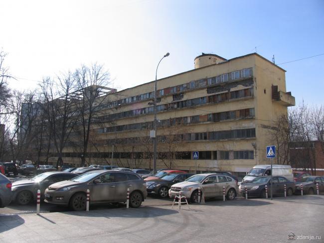 Дом-коммуна Наркомфина на Новинском бульваре