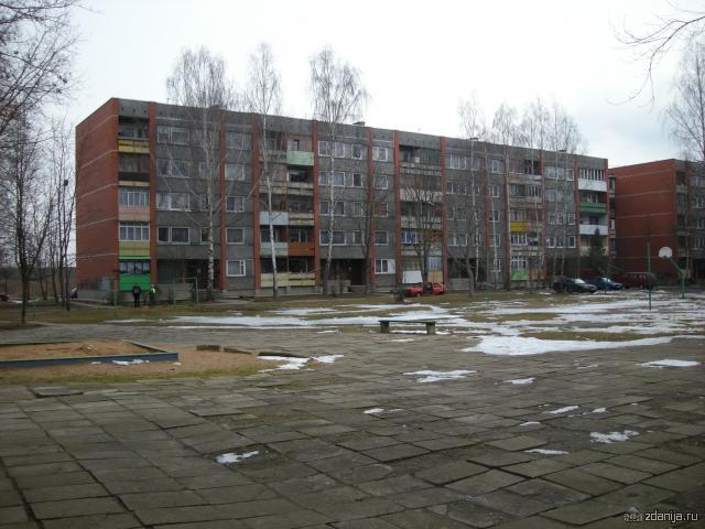 типовая панель в Латвийской ССР 1