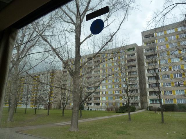 Дрезден, типовые дома