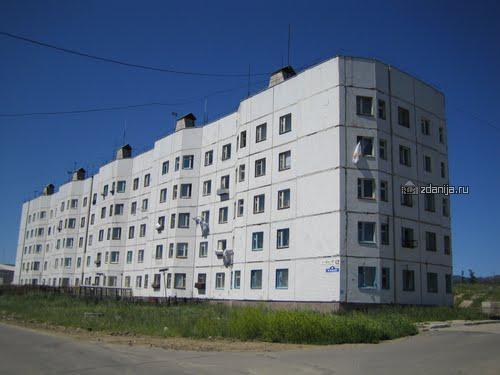 дома серии 122 с планировками квартир - торец (отр.адм.)