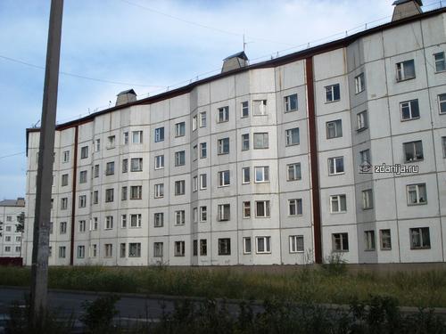 дома серии 122 с планировками квартир - фасад (отр.адм.)