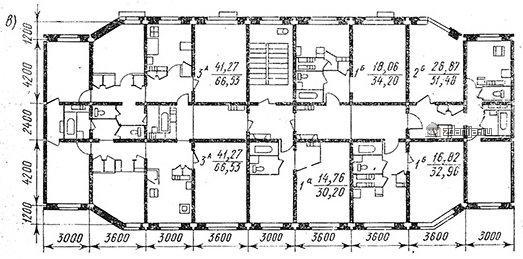 дома серии 122 планировки квартир (отр.адм.)