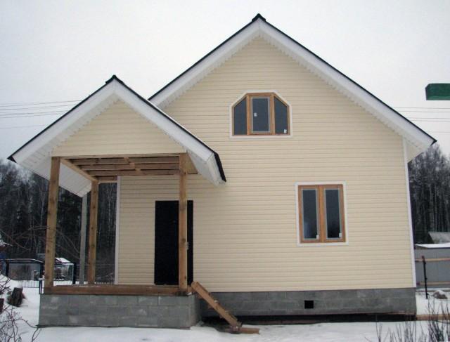 строительство домов недорого из бруса