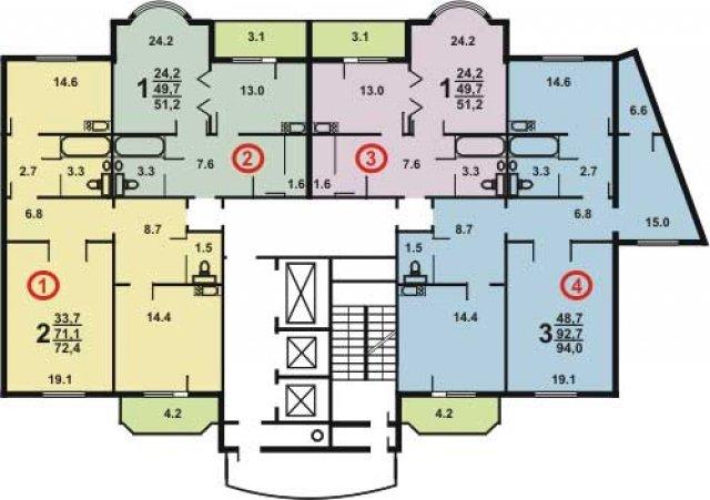 дома серии И-155МК и планировки квартир в них