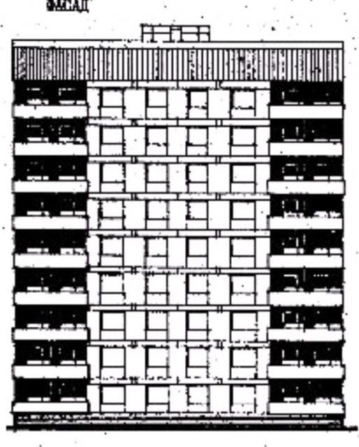 Дома серии 87, проект 87-080. фасад