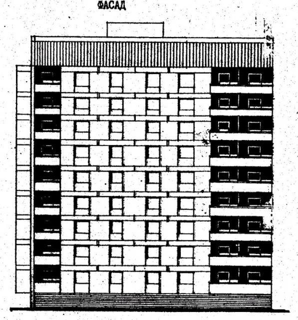 Дома серии 87, проект 87-083.фасад
