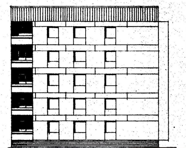 Дома серии 87, проект 87-0102.фасад