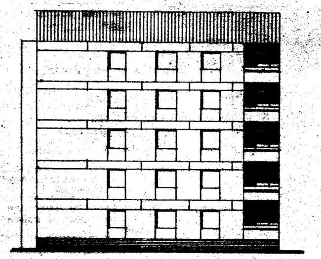 Дома серии 87, проект 87-0103.фасад