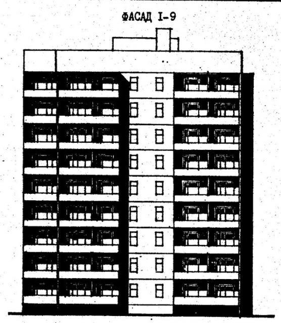 Дома серии 96. проект 96-033/75/1.2