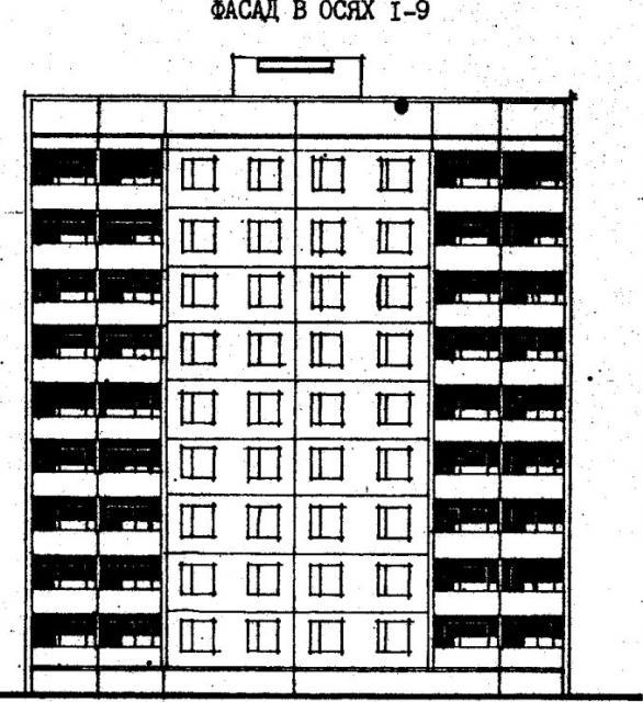 Дома серии 480А проект 065/1.2.фасад