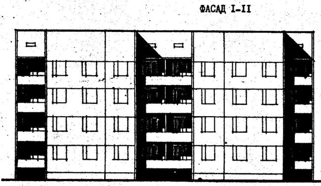 Дома серии 111-26. проект 77.83.фасад