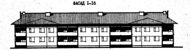 Дома серии 111-26. проект 78.83.фасад