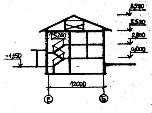 Дома серии 111-26. проект 78.83.разрез
