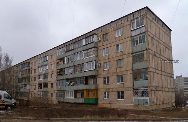 Помогите узнать серию дома Орёл 5 этажка блочная, лоджии и балконы 4 подряд чередуются