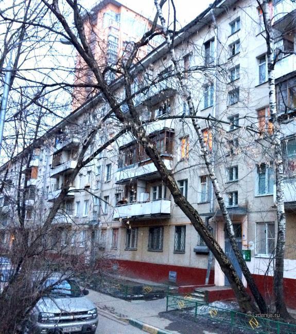 Москва, Гвардейская ул., дом 4, ЗАО, район Можайский, информация о доме