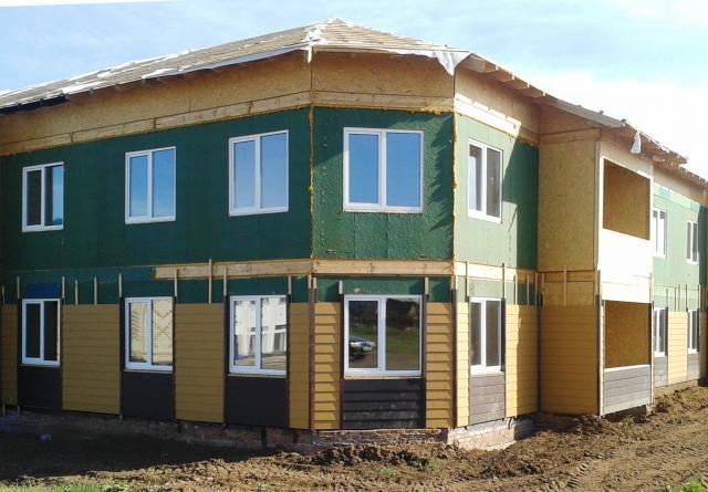 Строительство и утепление каркасного дома - ветрозащитные плиты vs пленки.