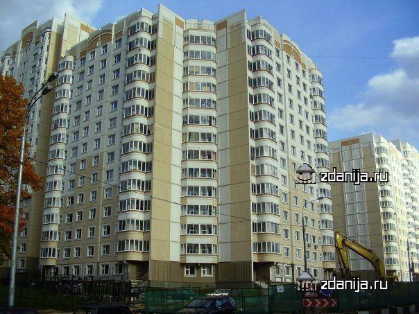 Москва, Ельнинская улица, дом 20, корпус 2, Серия п3м (ЗАО, район Кунцево)