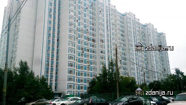 Москва, Рублевское шоссе, дом 42, корпус 2 (ЗАО, район Крылатское)