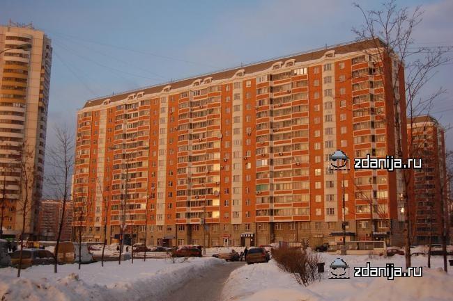 Москва, Белореченская улица, дом 43, Серия П-44т (ЮВАО, район Марьино)