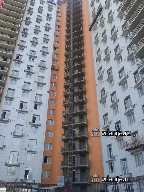 Москва, Рублевское шоссе, дом 68 (ЗАО, район Крылатское)