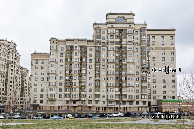 Москва, Ломоносовский проспект, дом 29, корпус 1 (ЗАО, район Раменки)