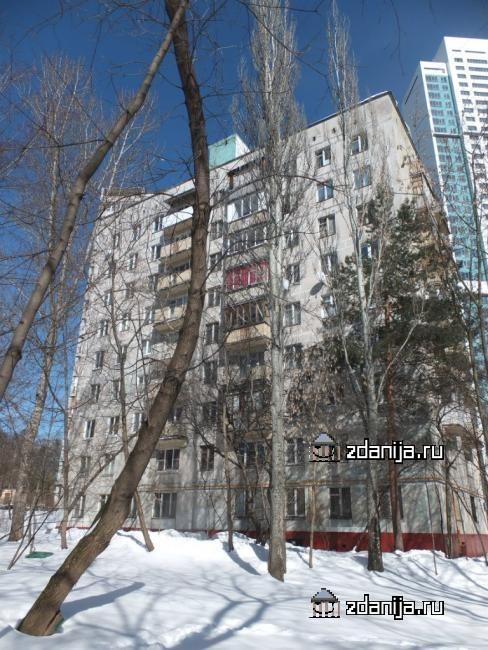 Москва, Рублевское шоссе, дом 109, корпус 2 (ЗАО, район Кунцево)
