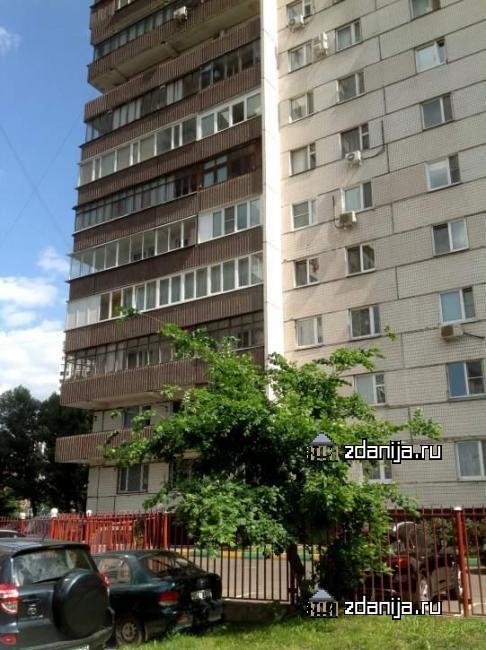 Москва, улица Академика Пилюгина, дом 20, корпус 2 (ЮЗАО, район Ломоносовский)