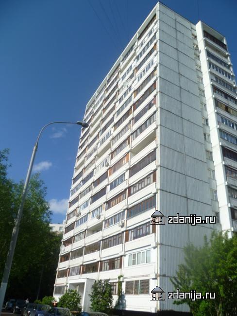 Москва, Ельнинская улица, дом 1, корпус 2 (ЗАО, район Кунцево)