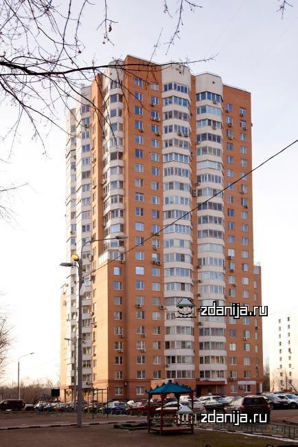 Москва, улица Пырьева, дом 9, корпус 3 (ЗАО, район Раменки)