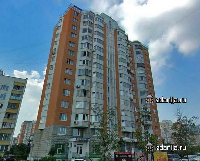 Москва, Белореченская улица, дом 38, корпус 1, Серия П-44т (ЮВАО, район Марьино)