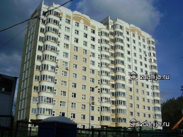 Москва, Ельнинская улица, дом 20, корпус 1, Серия п3м (ЗАО, район Кунцево)